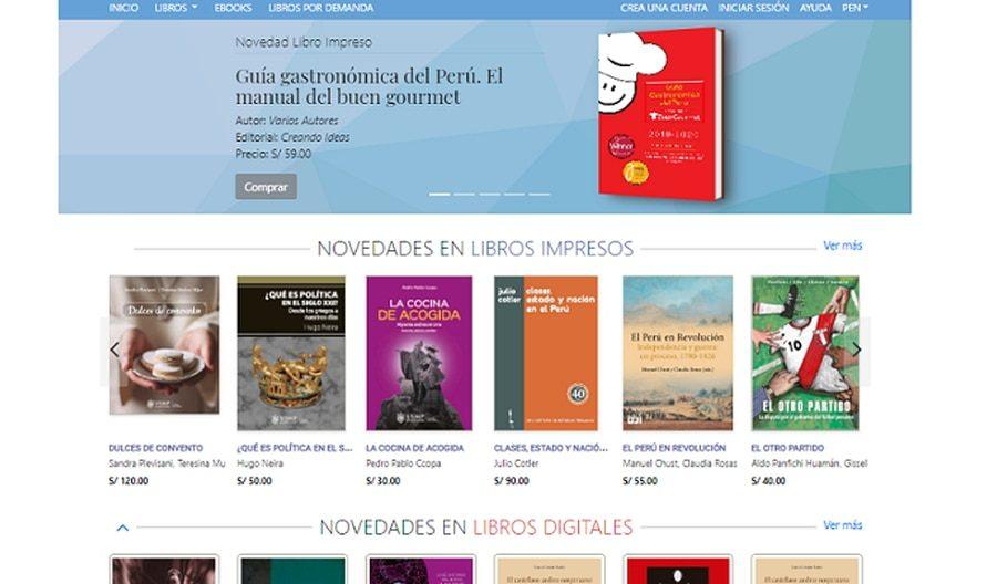 PeruBookstore.com, la librería que cumple 18 años ahora vende ebooks